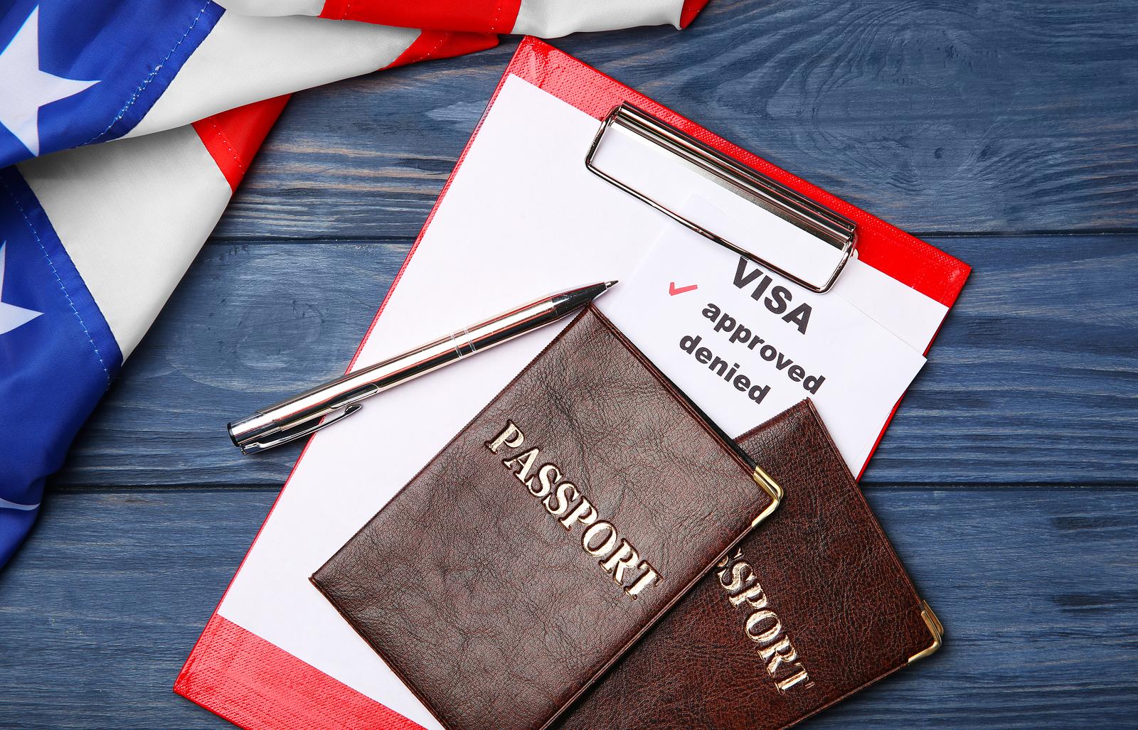 Approved American Visa